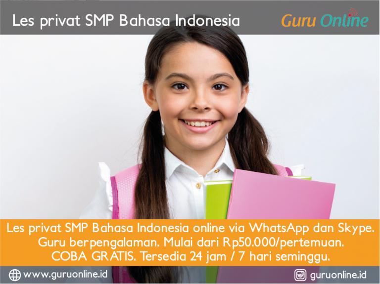 les-privat-bahasa-indonesia-smp