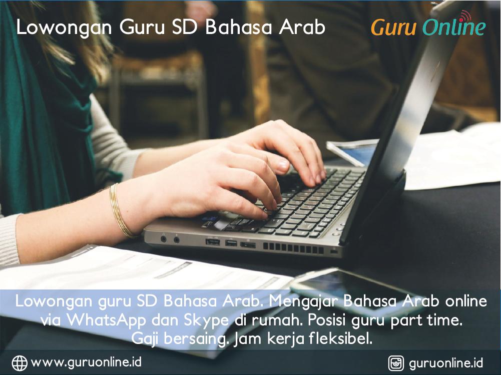 Lowongan Guru Sd Mi Bahasa Arab Terbaru Guru Online