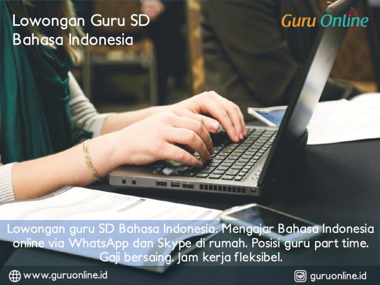 lowongan-guru-sd-bahasa-indonesia