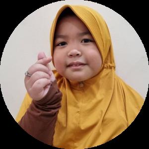 Aliya siswa Guru Online Kelas 1 SD